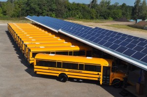Electric Bus Reloading